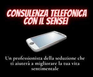Consulenza telefonica con il Sensei